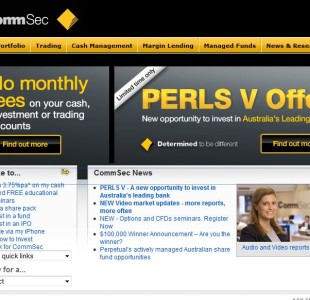 commsec comsec share trading