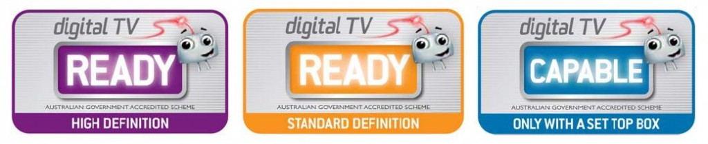Digital TV Labels