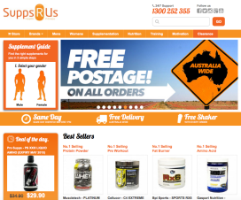 Online Supplement Sales