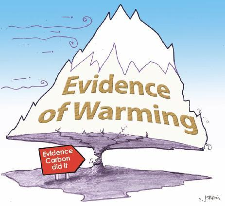 Global Warming CO2 Evidence