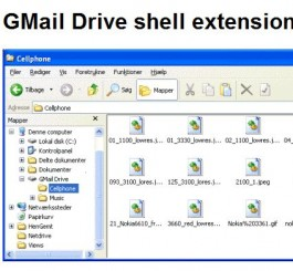 Gmail Shell Extension