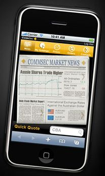 www.comsec.com.au iPhone