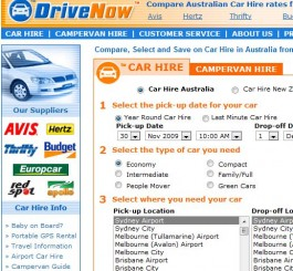 car rental compare prices:
